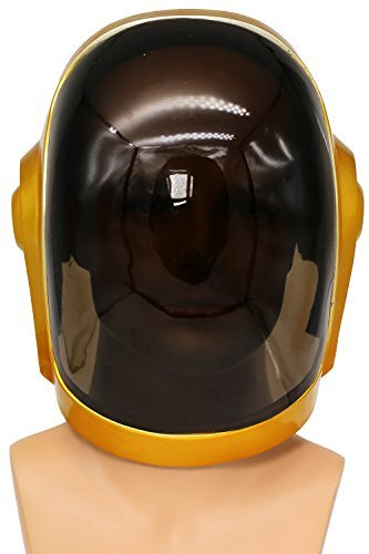 Daft Punk Mask Helmet 1:1 Cosplay Props Replica Thomas Bangalter Helmet -
