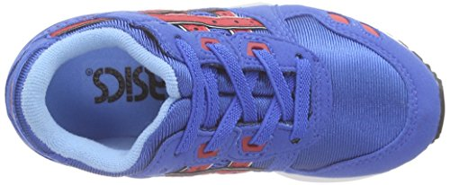 Classic Iii Asics Lyte Classic Sneakers PS Red Blue 4223 Gel Unisex Blau Kinder 1nnT8