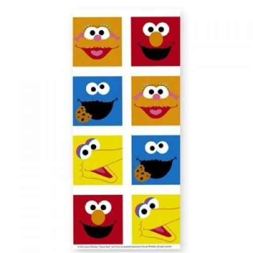 Sesame Street Smiles Party Tablecover