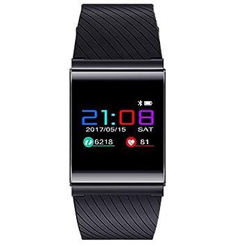 Pulsera Inteligente con Pulsómetro, Pulsera de Actividad con Monitor de Ritmo Cardíaco Activity Tracker Bluetooth