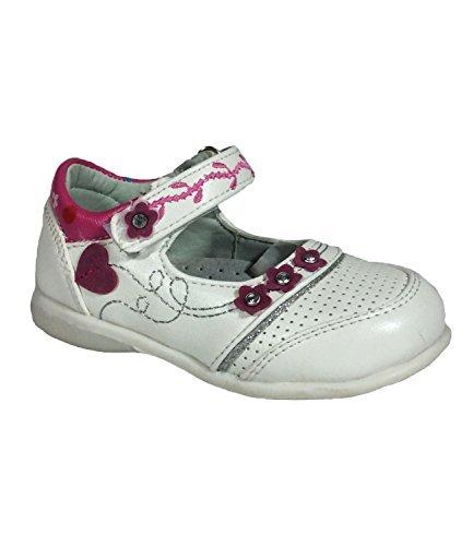 Mädchen Schuhe Größe UK 4,5bis 8,5Größe EU 21bis 26weiß
