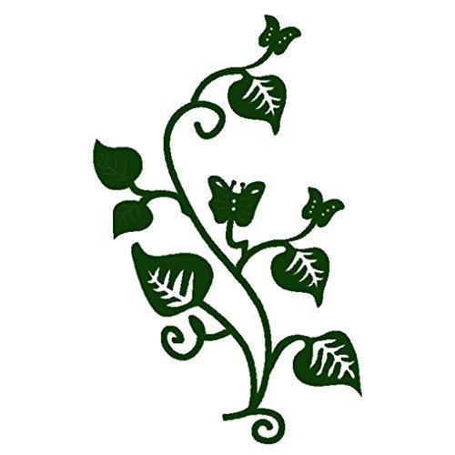 Residen Dies for Die Cutting- Scrapbooking DIY Album Paper Card Craft Embossing Die Cut Tools (K Vine Plants) ()
