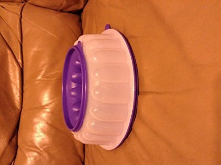 Tupperware Jel-Ring Jello Mold Berry Bliss/Purple