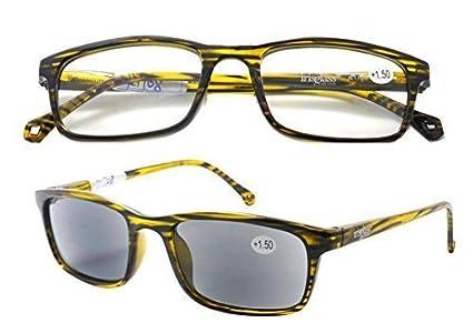 IRIS GLASS/Gafas de Lectura/Duplo 2x1/ Hombre/Vision ...