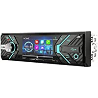 POWER ACOUSTIK 348B 1-DIN CD/MP3, AM/FM Receiver with Bluetooth 4.0 & Detachable 3.2 LCD, Black