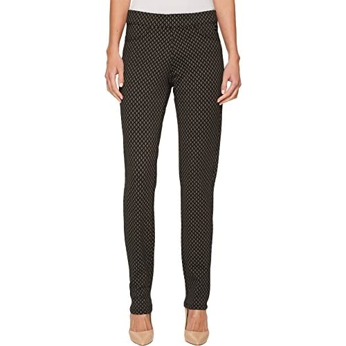 New FDJ French Dressing Jeans Womens Printed PDR Pull-On Slim Jeggings In Charcoal for sale