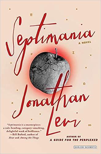 Amazon com: Septimania: A Novel (9781468312485): Jonathan