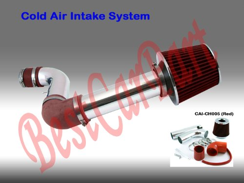 97 98 99 00 01 02 03 Chevy S-10 S10 2.2 Cold Air Intake (Include Air Filter) red (Air Intake Hose Chevy S10 compare prices)
