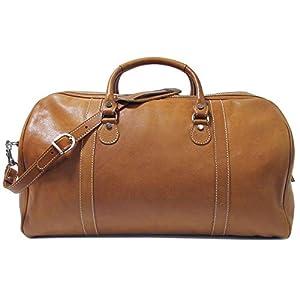 Floto Parma Leather Duffle Bag/Travel Bag 6