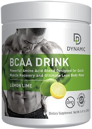 Dynamic BCAA Drink Lemon Lime Flavor