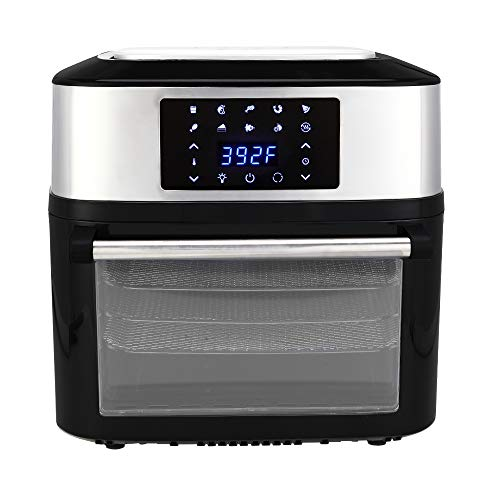 Zokop 17 Qt Electric Air Fryer Etl Listed 1800w All In One
