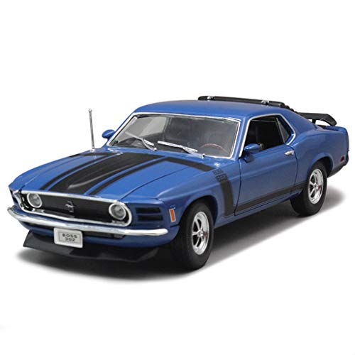 SXET-Model car Model Car Alloy Car Model Die Casting Model 1:18 Muscle Car Model 1970 Ford Mustang BOSS 302 Sports Car Model 18 1970 Ford Mustang Boss