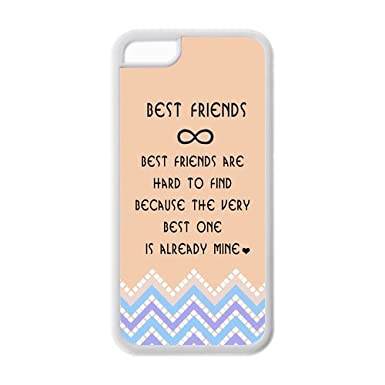 The Meaning Of Best Friends Snap On Tpu Case Cover For Iphone 5c