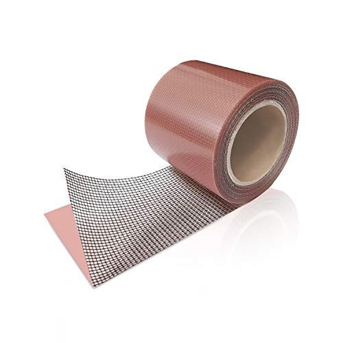 Screen Patch Repair Kit, Door Window Screen Repair Tape Fiberglass Covering Mesh Tape Waterproof Strong Adhesive Seal for Repair Holes Tears Prevent Mosquitoes Insects(2x120) (Black)