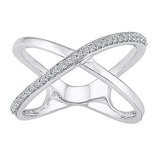 Jewels By Lux 10kt White Gold