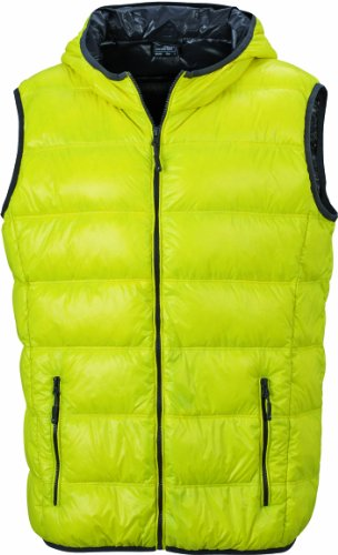 James Yellow Amarillo down Men's Carbon amp; hombre Nicholson vest Chaqueta para 11ngOUw