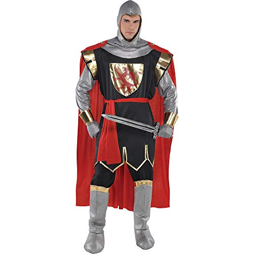 AMSCAN Suit Yourself Brave Crusader Knight Halloween Costume for Men, Standard Size, with - Set Crusader Costume