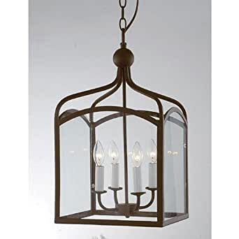 Jojospring Antique Copper 4-light Chandelier