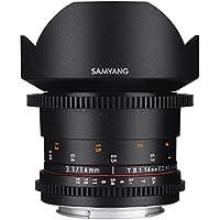 Samyang 14mm T3.1 VDSLR Manual Focus Video Lens for Canon DSLR Cameras