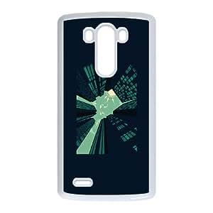 LG G3 Cell Phone Case White Solitary Dream B4K7Q