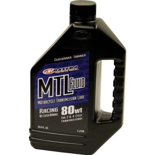 Maxima Transmission Fluid MTL R 80 W Racing 1リットル41901 B000WPYJIM