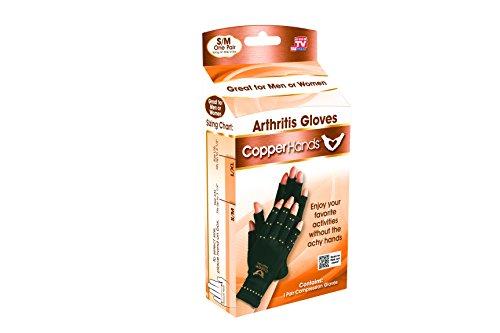 Gloves Arthritis Hands - Copper Hands Arthritis Compression Gloves As Seen on TV (SM/MD)