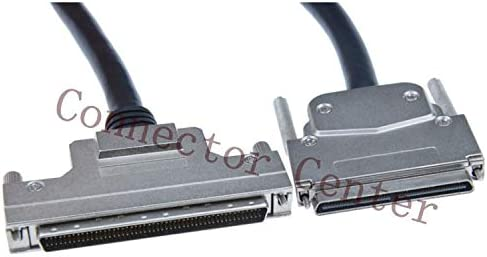 Color: 2M Gimax VHDCI 100P To SCSI 100P Cable connector compatible with HDRA-E100 OEM Length