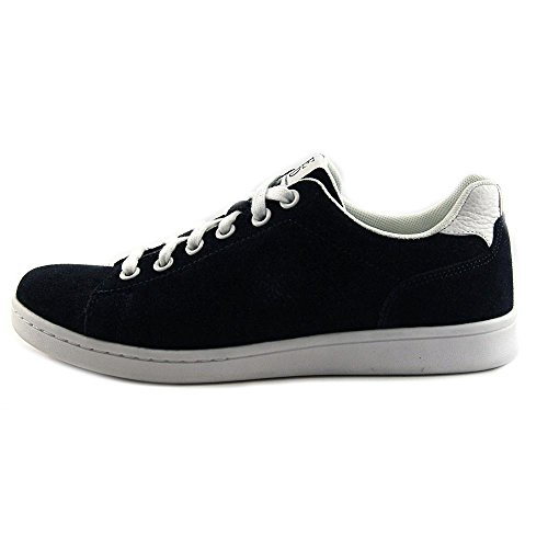 outlet free shipping authentic ED Ellen DeGeneres Womens chapala Fabric Low Top Lace up Fashion Sneakers Navy Suede low cost online cheap sale official discount best place WvGcV