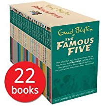 Famous Five Enid Blyton Complete Collection 22 Books Bundle (Five on a Treasure Island...
