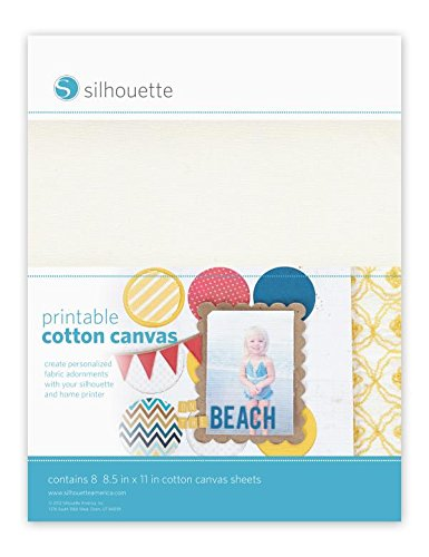 Silhouette Printable Cotton (Media Cotton Canvas)