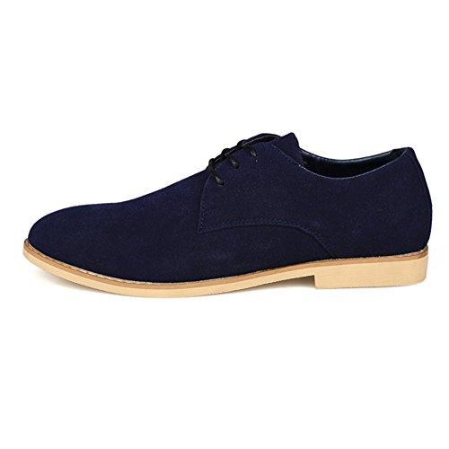 Zapatos ocasionales de verano/Corte de corriente bajo hombres zapatos azul marino