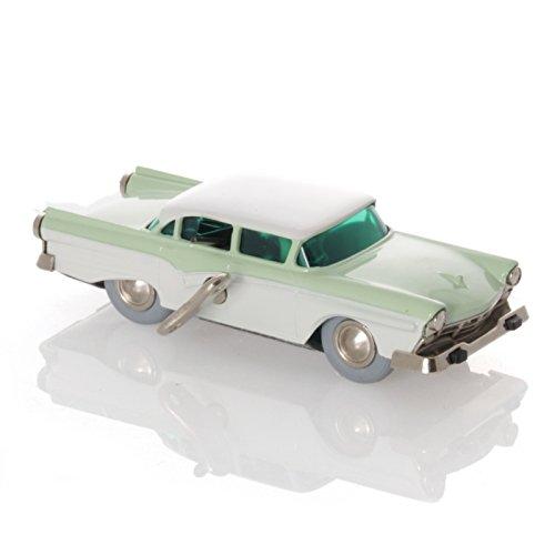 Schuco Tin Toys (Schuco Micro Racer Ford Fairlaine lime green/white - Mechanical Tin Toy)