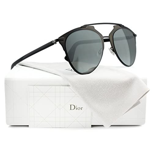 bfe467f7297bdc lovely Christian Dior Reflected S Sunglasses Shiny Black w Grey Mirror  (0M2P)