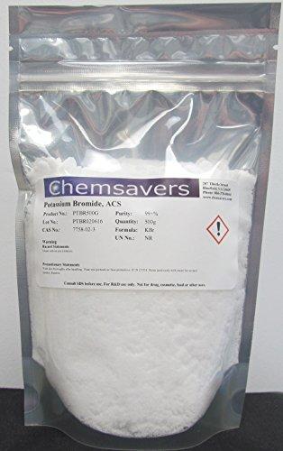 Potassium Iodate Iodide (Potassium Bromide, ACS, 99+%, 500g)