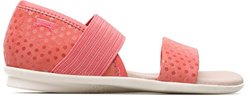 Camper Kids Girls Shoes - Camper Kids Girls' Right K800041 Flat Sandal, Pink, 35 M EU Big Kid (4 US)