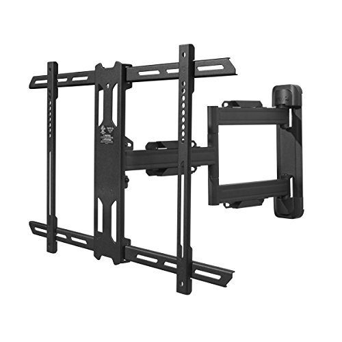 Kanto PS350 Full Motion Mount for 37-inch to 60-inch TVs (Flat Small Single Panel)