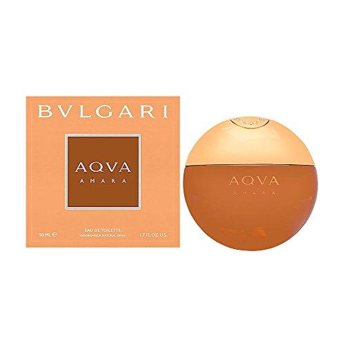 Bulgari Aqva Amara homme/men, Eau de Toilette, Vaporisateur/Spray 50 ml, 1er Pack (1 x 50 ml)