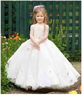 26bdb036147 Triumph Dress Little Girls Pink Crystal Adorned Anastasia Flower Girl Dress  6