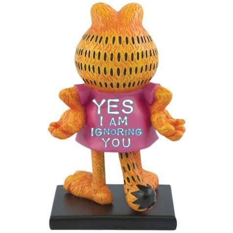 WL 5 Inch Yes I Am Ignoring You Garfield Collectible Figurine Statue