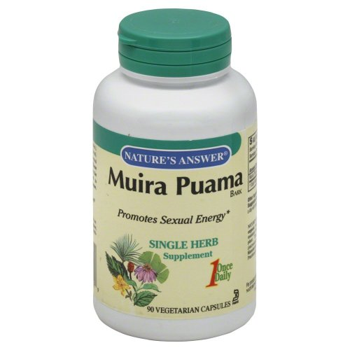 Natures Answer Muira-Puama Bark 90-Count