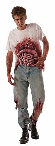 Forum Novelties Men's Spill Your Guts Costume, As As Shown, One Size -