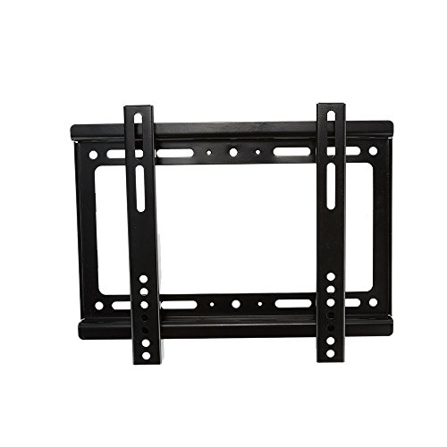 Andoer HDTV Wall Mount TV Flat Panel Fixed Mount Flat Screen Bracket with Max 200 200 VESA Compatibility and Max.55lbs Loading Capacity for 14