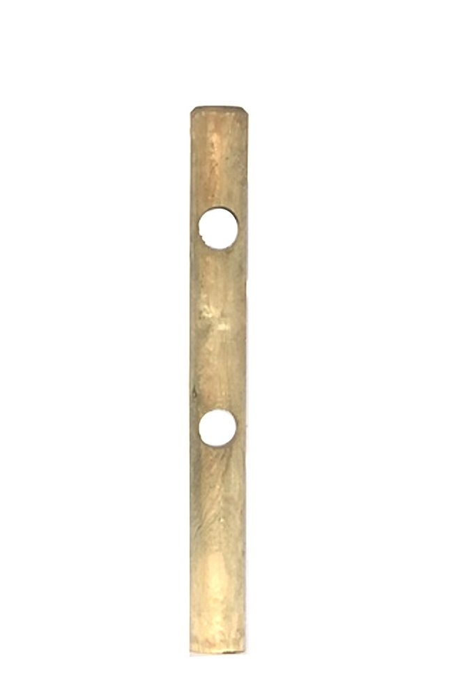 Pali di legno IMPREGNATI lavorati con 2 fori diam. cm.12 lungh. cm.150 Pezzi 10