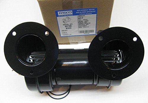 Fasco 50746-D500 Centrifugal Blower with Sleeve Bearing, 3,100 rpm, 115V, 60Hz, 0.72 (3 Speed Wood Stove Blower)