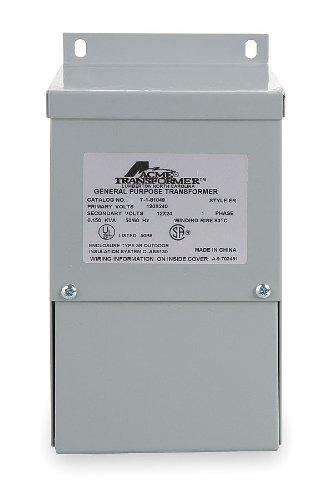 Acme Electric T181059 Buck-Boost Transformer, 1 Phase, 60...