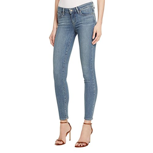 Paige Womens Stretch Ankle Jeans Blue 27