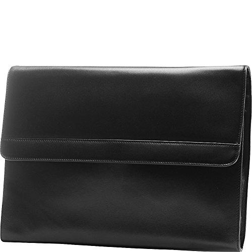 Tanners Avenue Premium Leather Portfolio Brief (Black)