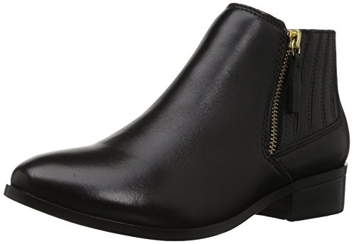 Aldo Women's Taliyah Ankle Bootie, Black Leather, 7 B (Aldo Black Leather)