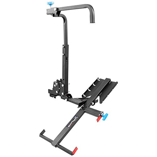 (Silver Spring MWCC Manual Wheelchair Carrier with Tilting Platform)