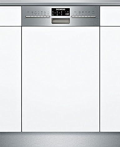 Siemens iQ500 SR556S00PE lavavajilla Semi-incorporado 9 cubiertos ...